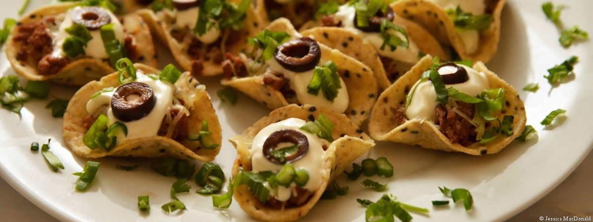 mini taco appetizers