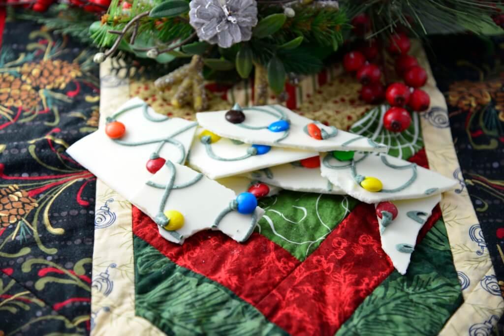 Chocolate Bark, easy Christmas treat