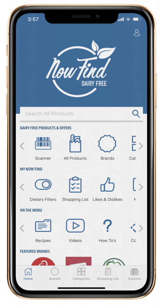 Now Scan Dairy Free! - Now Find Dairy-Free